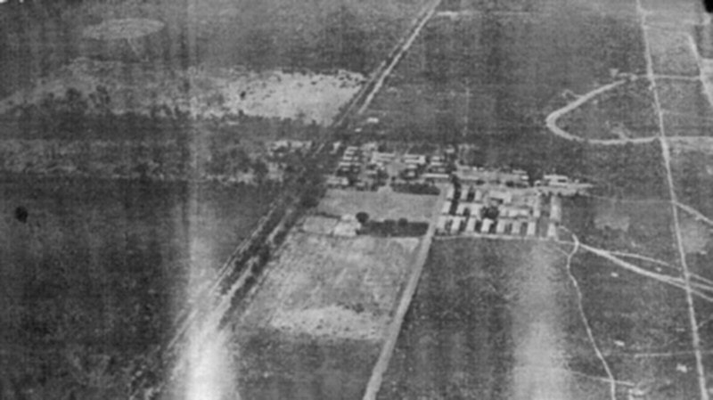 Another aerial view of Base