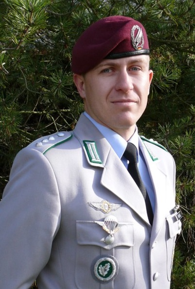 the author druing his active duty in 2009