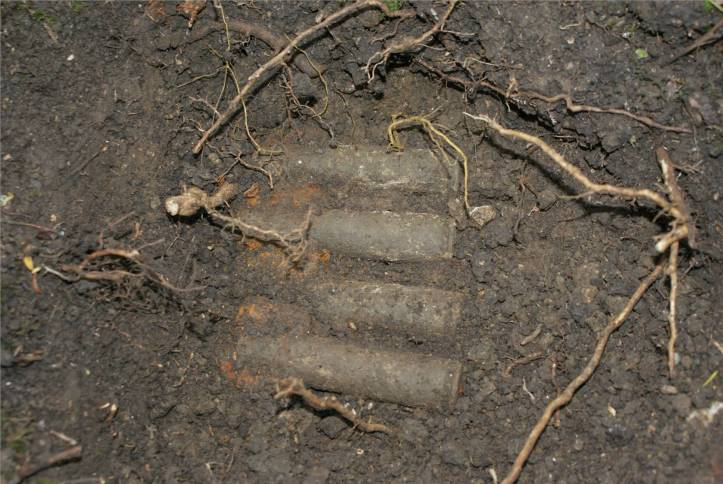 50 cal. cases found during an expedition