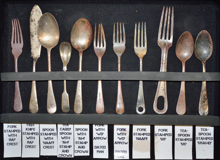 WW2 cutlery tell a story too