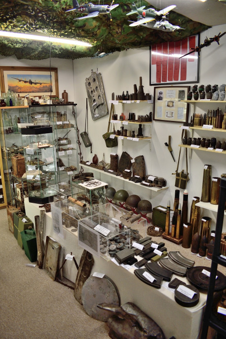 A view of Stephen's collection.