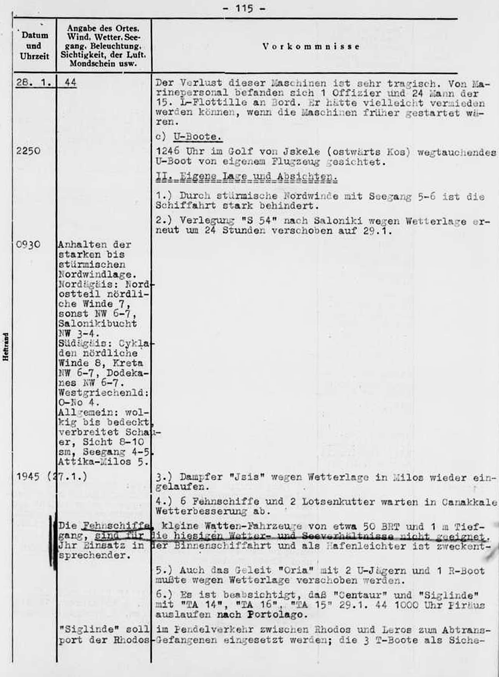Another page of the same German report, as found by respected researcher Mr. Thanos Antonelos