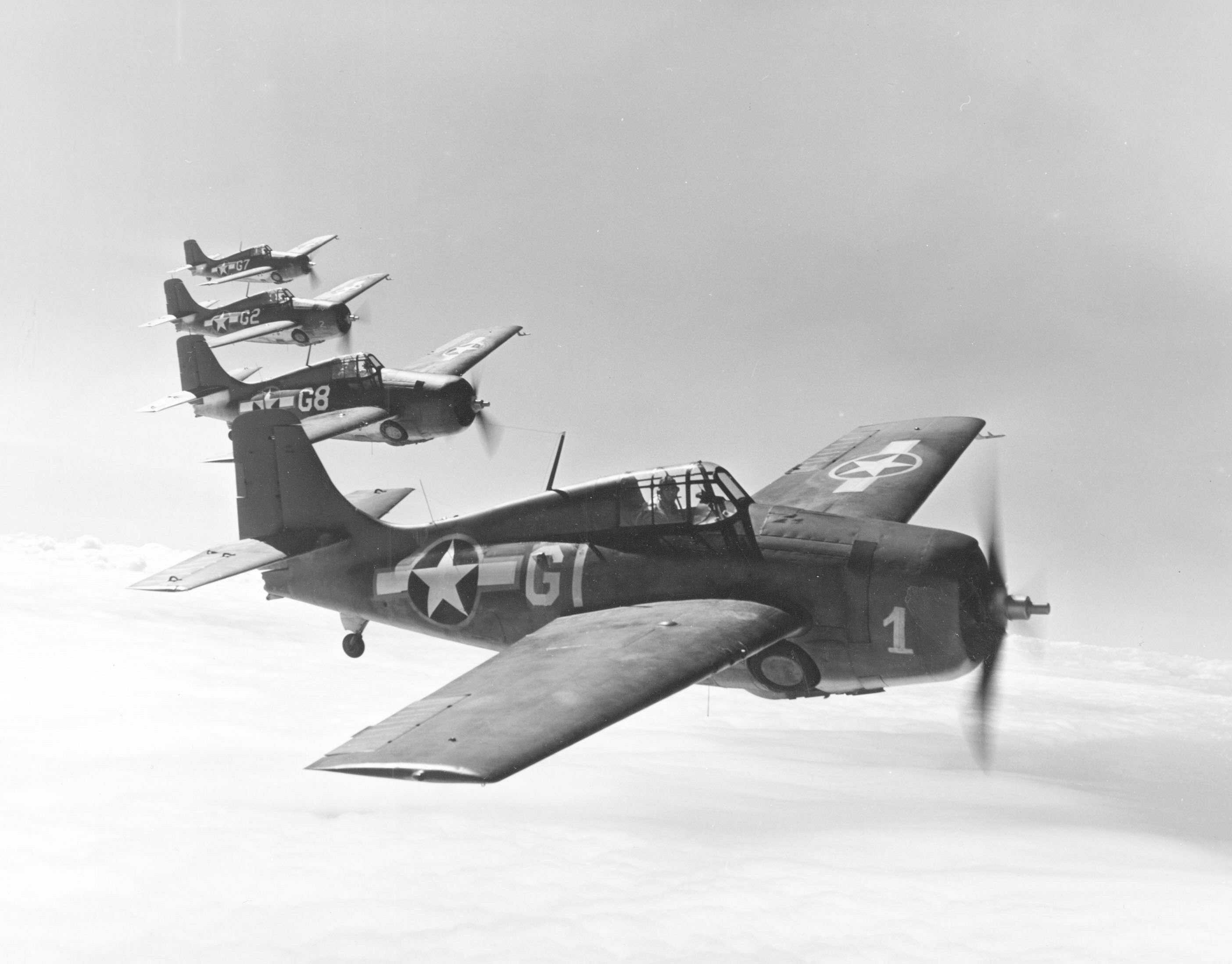 The Wildcats may not be the best looking aircraft of WW2, but they were among the most successful in the Pacific Theatre of Operations.