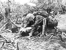 220px-Wounded_Marine_on_Peleliu