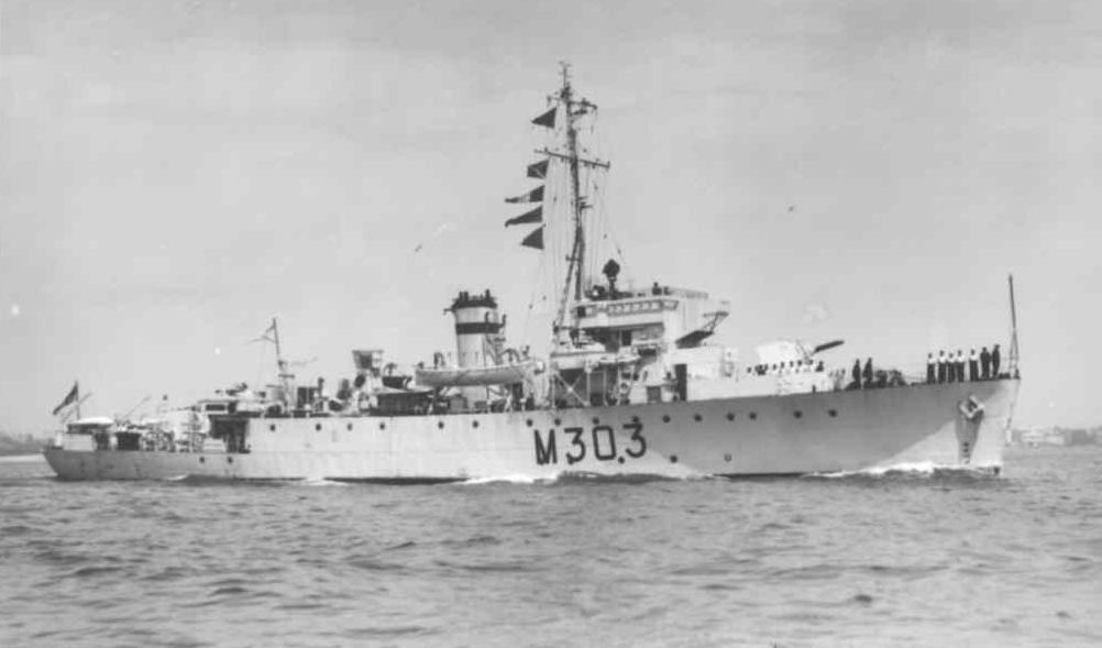 HMS Truelove, sister-ship (Navy Photos/Mark Teadham)