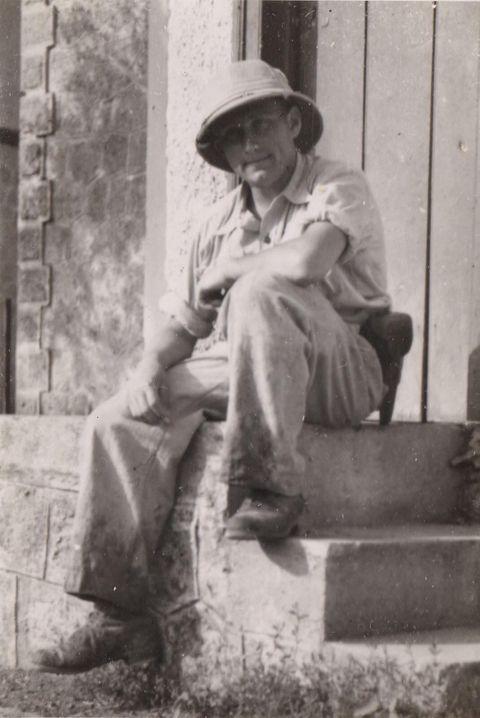 Mr. Schnaider in Crete, 1942.