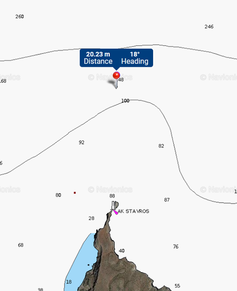 Approximate area of the crash by AceSfakia