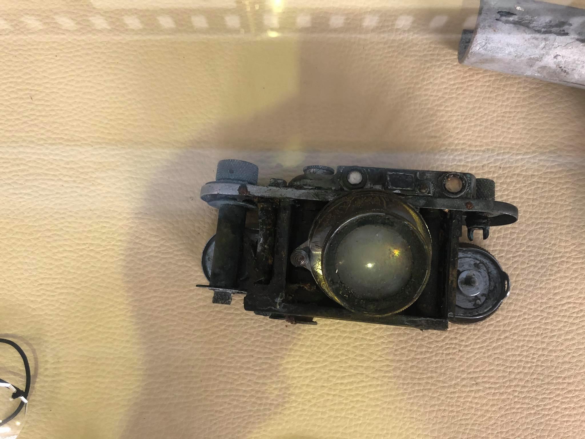 Camera found inside the Ju52